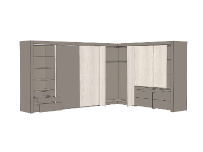 Large wardrobe with WingLine 770