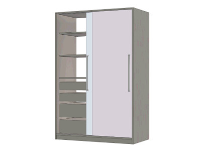 Cabinet with extra storage space