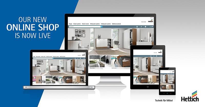 Hettich Canada Launches New Online Shop Hettich