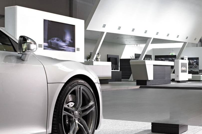 Audi Showrooms worldwide