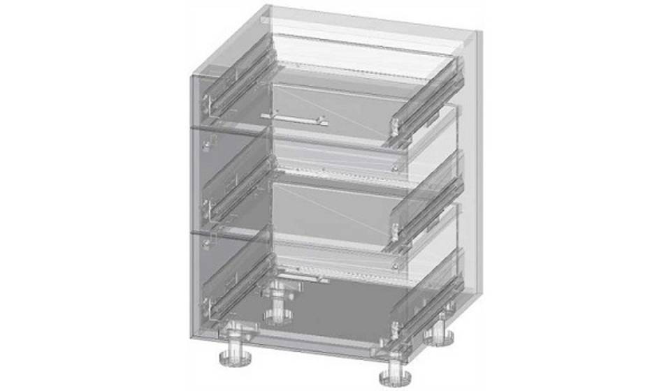 3D cabinet body construction