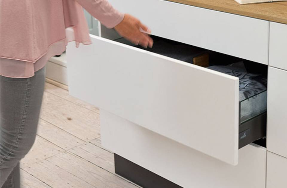 2x40 cm HENGMEI Tiroir t/élescopique Tiroir darmoire /Étag/ère extensible Cuisine tiroir cuisine Corbeille Chambre tiroir Rangement