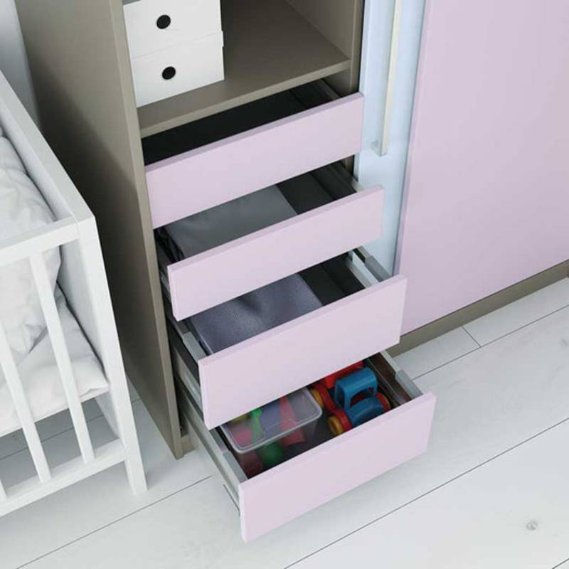 InnoTech Atira drawer system: practical storage space makes keeping things tidy incredibly easy.