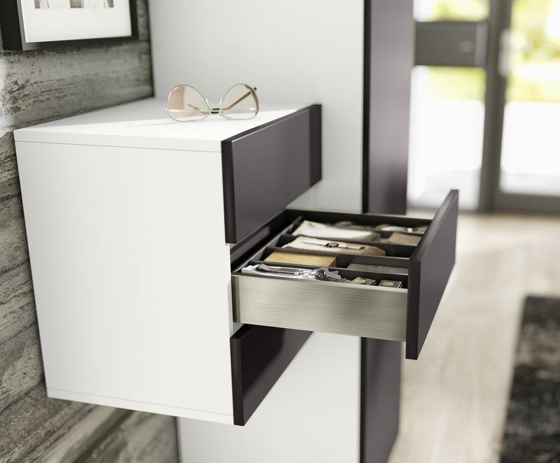 "Customisation to suit any preference: Hettich presents its latest platform generation for drawers in the form of ""AvanTech YOU"". Photo: Hettich"