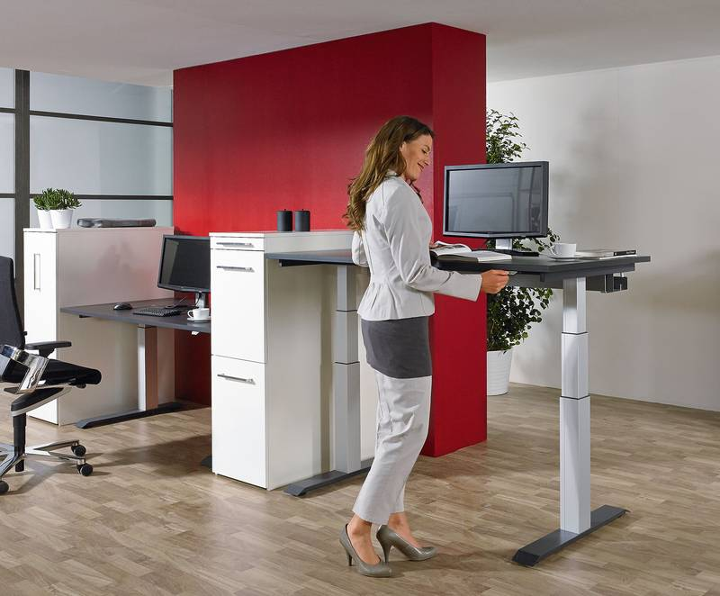 LegaDrive Systems comes with the best credentials for meeting the growing market demands in respect of modern workplace organisation in the future too. Photo: Hettich