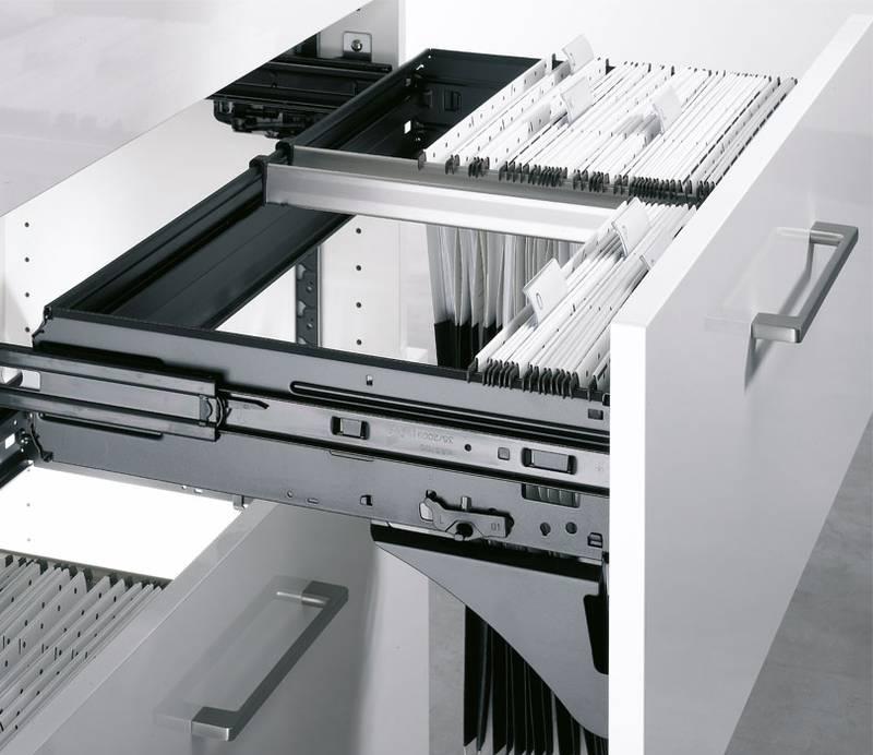 Systeme für Büromöbel - Hettich