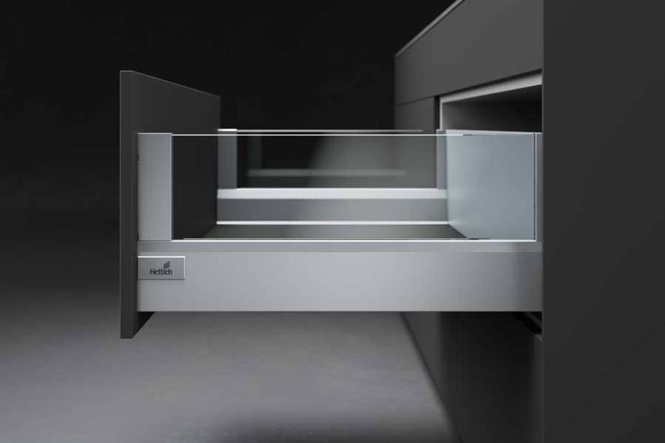 ArciTech double-walled drawer system from Hettich