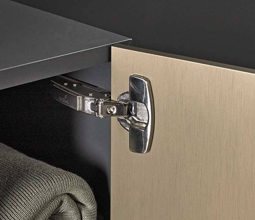 Sensys thin door hinge