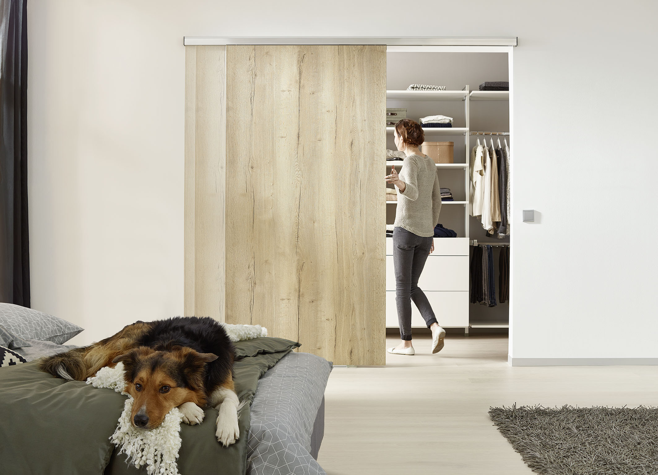 Merveilleux Closes Very Heavy Doors In Complete Silence: The First Soft Stop System For  Doors Weighing Up To 325 Lbs. Photo: Hettich