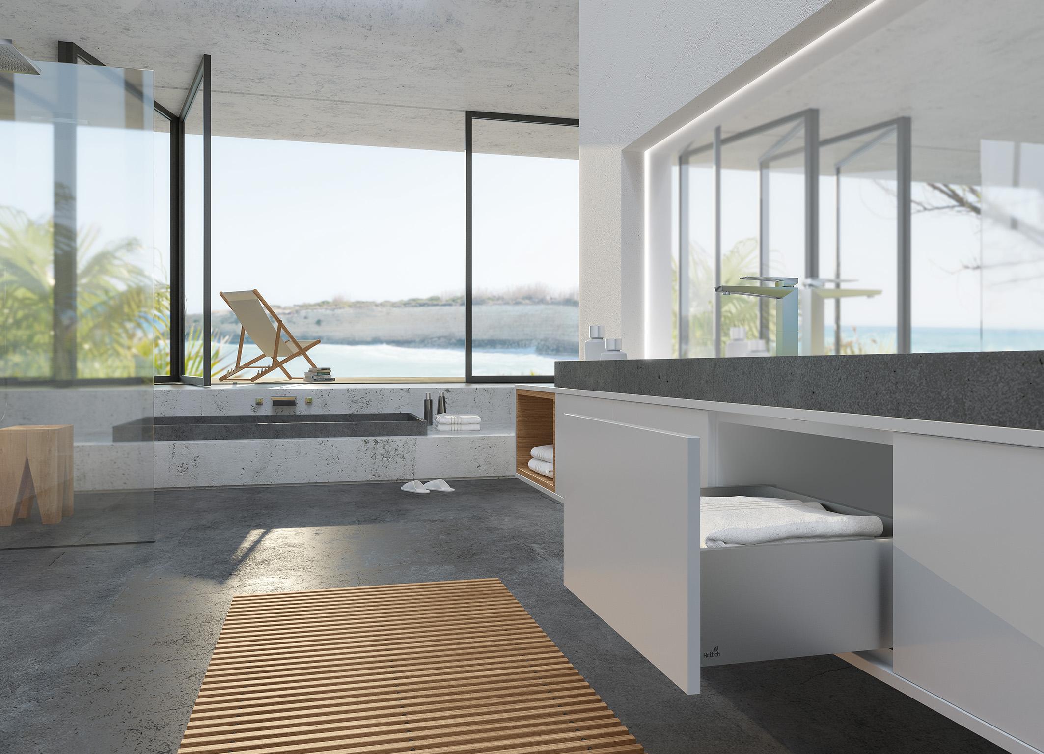 Badkamer Opnieuw Voegen : Perfectie leven hettich