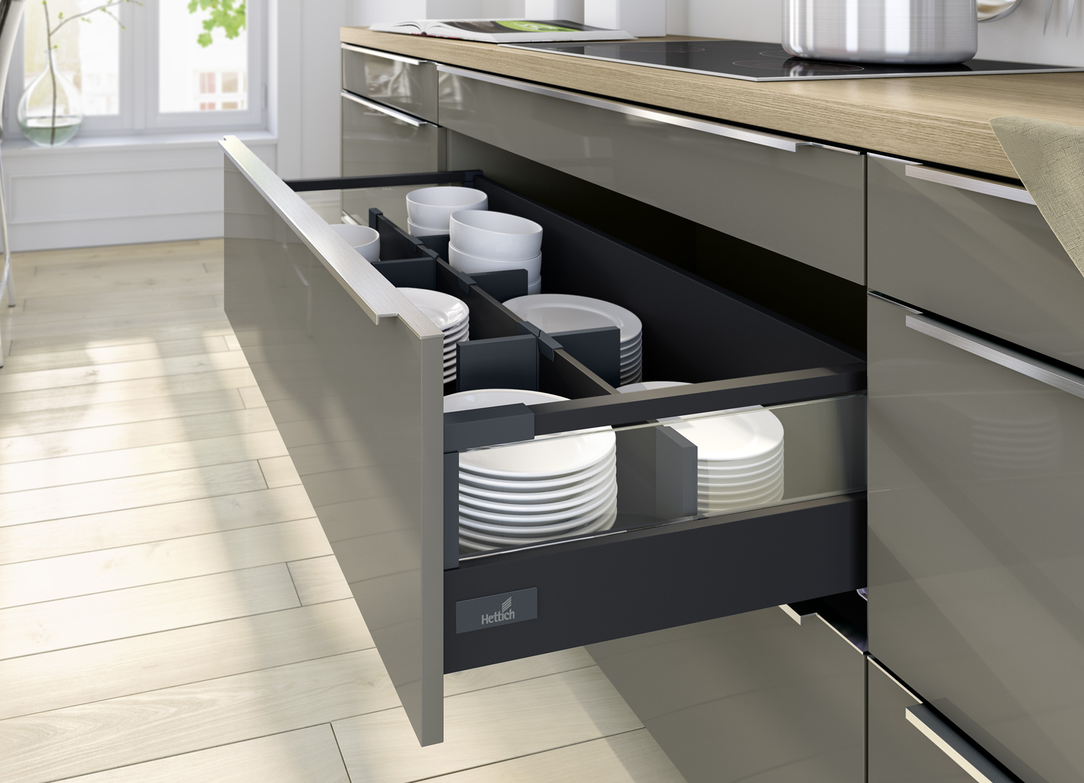 French Country Kitchen Designs Drawer Systems Hettich