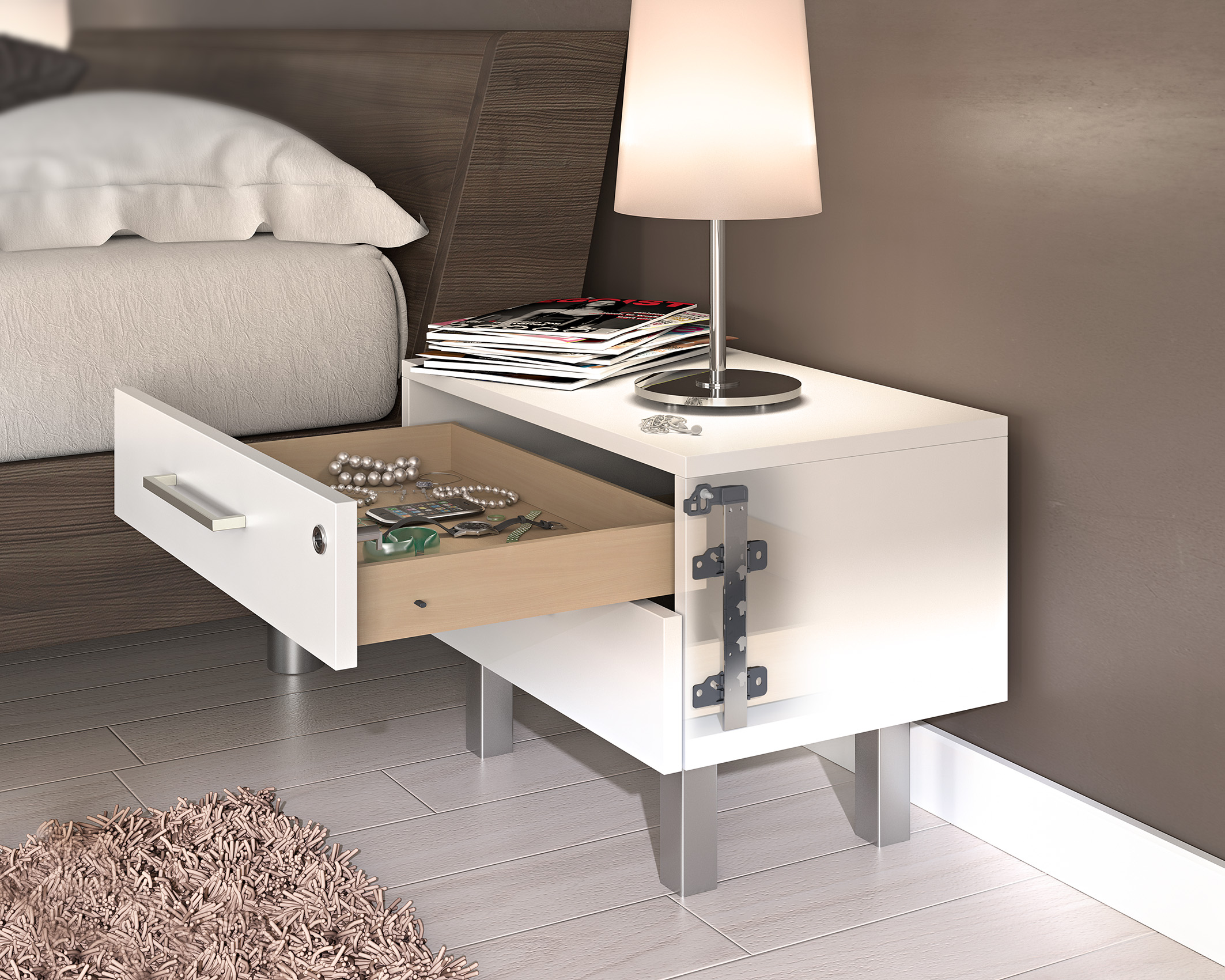 systeme f r b rom bel hettich. Black Bedroom Furniture Sets. Home Design Ideas